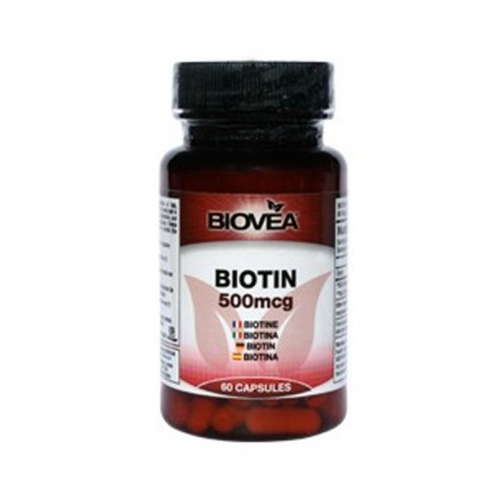 Biovea Biotin 0,5mg 60 tablet
