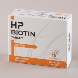 HP Biotin 1mg 100 tablet