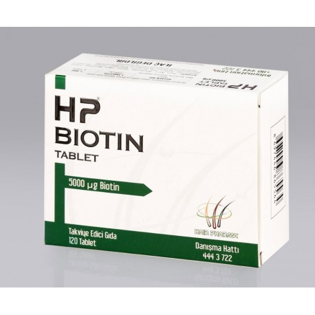 HP Biotin 5mg 120 tablet